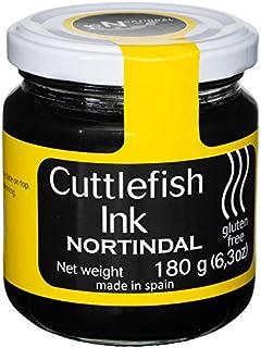 Nortindal Cuttlefish Squid Ink Jar, Tinta de Sepia - 180g (6.4 oz)  