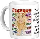 December 1995 Playboy Magazine Cover Featuring Farrah Fawcett