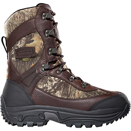 """Lacrosse Hunt Pac Extreme 10"""" Height Mossy Oak Break-Up 2000G (283160) Waterproof Insulated Modern Comfortable Hunting Combat Boot Best for Mud, Snow (10 M)"""