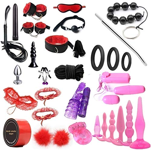 Còuplěs Yoga Equipment Starter 32pcs/Set Suit Tòys Adùlt Leather Best Tṍýš