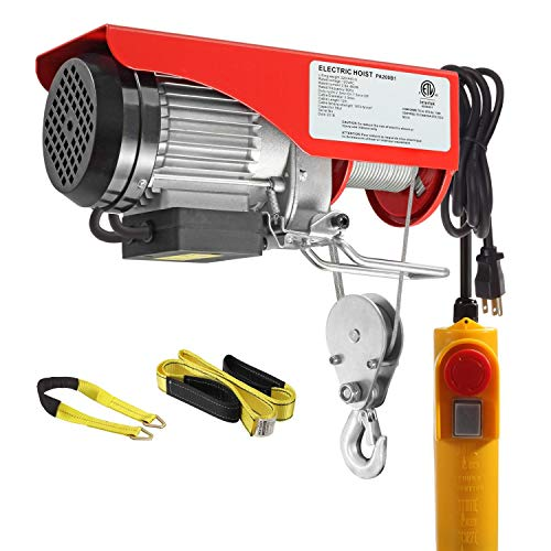 Our #2 Pick is the Partsam 440 lbs Lift Electric Hoist Crane