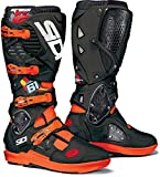 Sidi Crossfire 3 SRS J61 Limited - Botas de motocross (talla 43), color negro