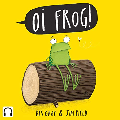 Oi Frog! audiobook cover art