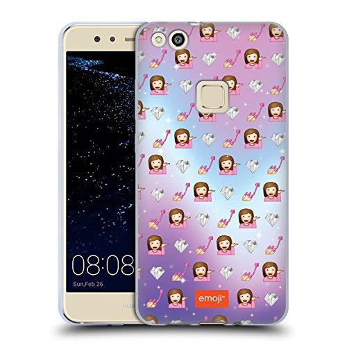 Head Case Designs Oficial Emoji Descarado Patrones Carcasa de Gel de Silicona Compatible con Huawei P10 Lite