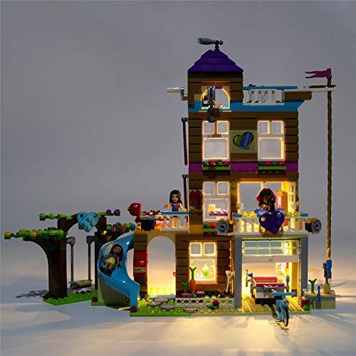 HLEZ Conjunto de Luces Lluminación para Amigos Amistad Casa Modelo de Bloques de Construcción, Kit de Luces Compatible con Lego 41340 (Modelo Lego no Incluido)