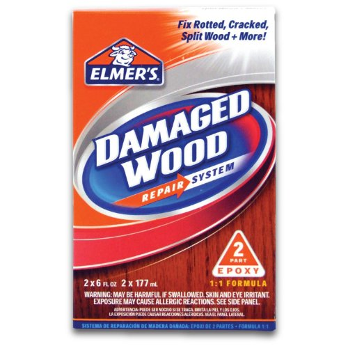 Elmer's E761Q Two 6 Oz Elmer's Damaged Wood Repair System