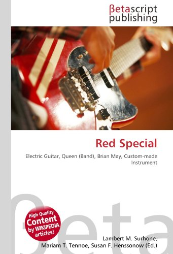 Red Special: Electric Guitar, Queen (Band), Brian May, Custom-made Instrument