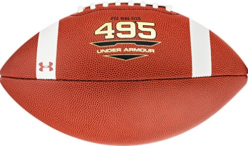 UNDER ARMOUR 495 COMPOSITE FOOTBALL, JUNIOR SIZE
