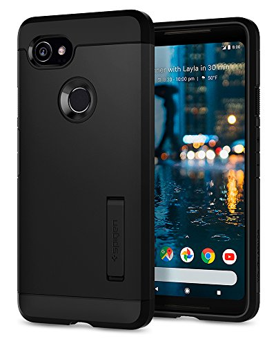 Spigen Tough Armor Designed for Google Pixel 2 XL Case (2017) - Black