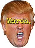 tRUMP Moron Vinyl Decal Bumper Wall Laptop Window Sticker 5'