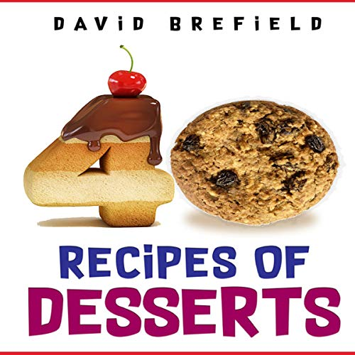 40 Recipes of Desserts cover art