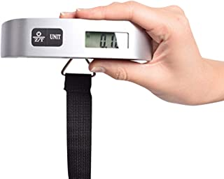 Olmecs Digital Luggage Scale, Portable Handheld Baggage Scale for Travel, Suitcase Scale with Hook,110 Pounds, Battery Inc...