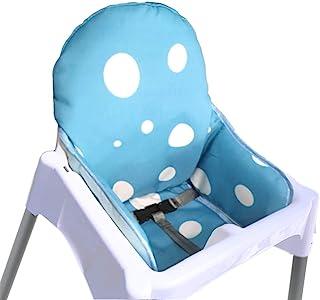 comprar comparacion ZARPMA IKEA Antilop Cojín para trona de bebé, de nueva versión, más grueso, lavable y plegable, acolchado para silla infan...