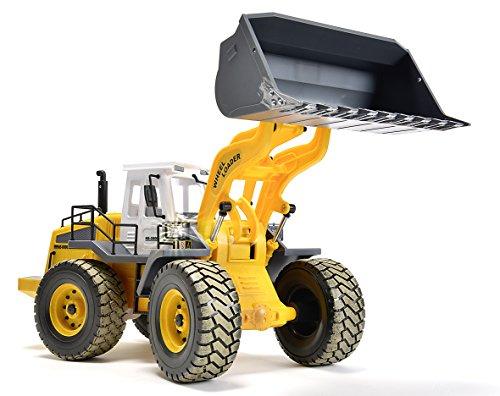 RC Auto kaufen Baufahrzeug Bild 2: Carson 500907192 - Fahrzeug, 1:14 Radlader 27MHz, 100% RTR*