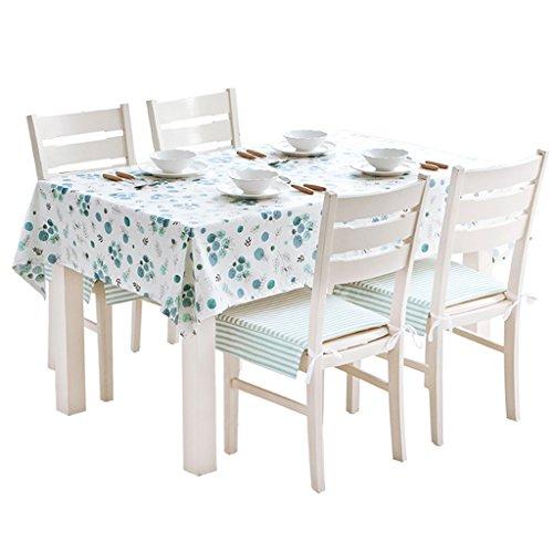 Tissu imperméable et résistant à l'huile, facile à nettoyer Chiffon de table rectangulaire rectangulaire rural Linge de table en lin et coton (Size : 110 * 170cm)