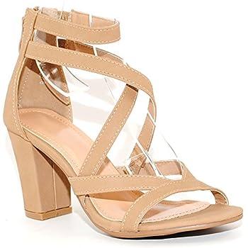 Best tan chunky heels Reviews
