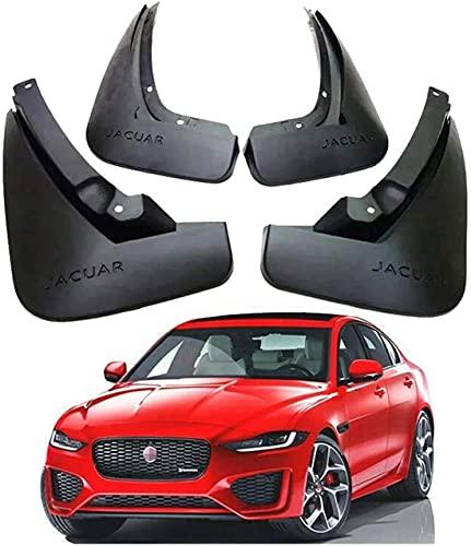 Guardabarros de Coche para Jaguar XE R Sport 2015-2020 Juego de Guardabarros Delanteros Traseros Personalizados Guardabarros de Coche Accesorios,4 Piezas