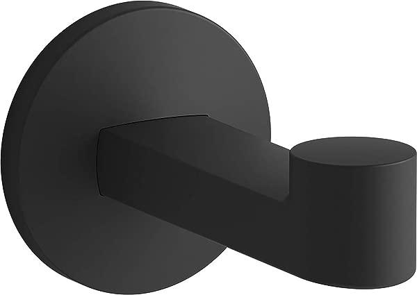 KOHLER 78378 BL Components Robe Hook Matte Black