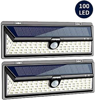 Harmonic Solar 100 LED Motion Sensor Outdoor Light
