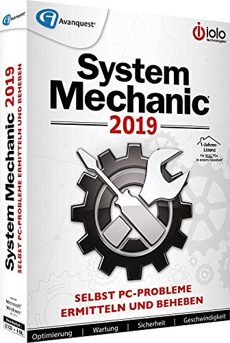 System Mechanic 2019 + Privacy Suite 18 DVD Bundle