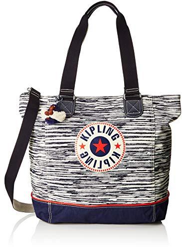 Kipling Shopper C - Borse Tote Donna, Multicolore (Scribble L Bl)