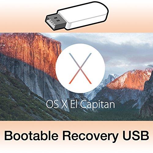 OS X 10.11.6 El Capitan bootfähigen USB-Stick Installer Recovery USB + Anleitung