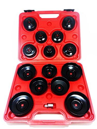 Kit 15 boccole per filtri auto chiavi a tazza per filtro olio in valigetta. MWS