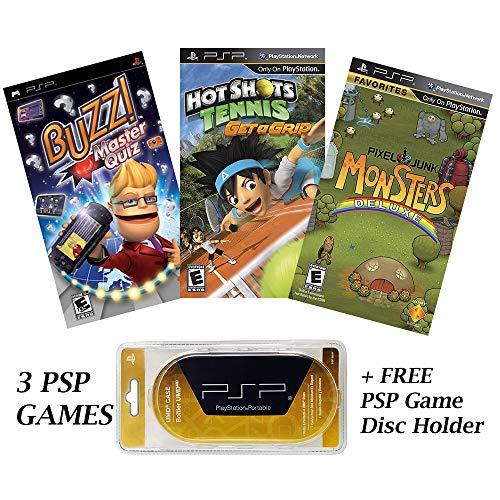 games for psps PSP Special 3 Game Bundle with UMD Case Holder - Limited Offer