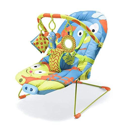 Cadeira de Descanso para Bebês 0-15 kg Cachorro, Multikids Baby, Azul
