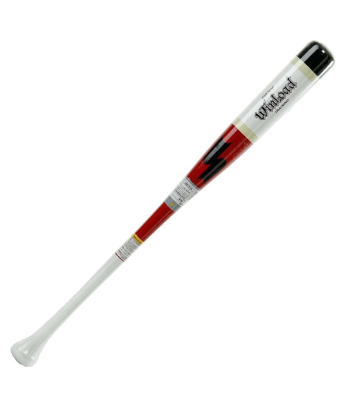 アトミックどういたしまして近代化エスエスケイ 野球 トレーニングバット 少年木製 トレーニング用 実打可能 ウィンロード SBB7010 2010 80