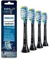Philips Sonicare Original Aufsteckbürste Premium Plaque Defence HX9044/33, 10x mehr Plaqueentfernung, RFID-Chip, 4er...