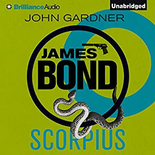 Scorpius     James Bond Series              By:                                                                                                                                 John Gardner                               Narrated by:                                                                                                                                 Simon Vance                      Length: 7 hrs and 41 mins     39 ratings     Overall 4.4