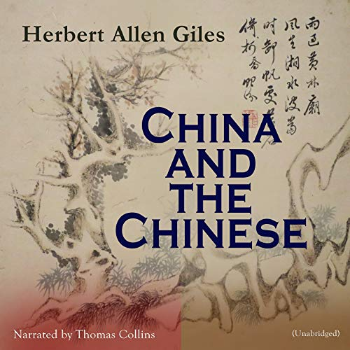 China and the Chinese audiobook cover art