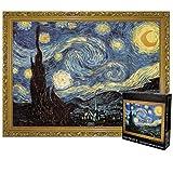 Rompecabezas Clásico 3000 del pedazo del rompecabezas for los adultos de los niños - Noche estrellada de Vincent van Gogh Robusto y fácil