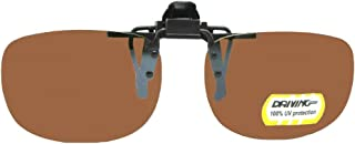 Driving Lens Rectangle Non Polarized Flip up Sunglass