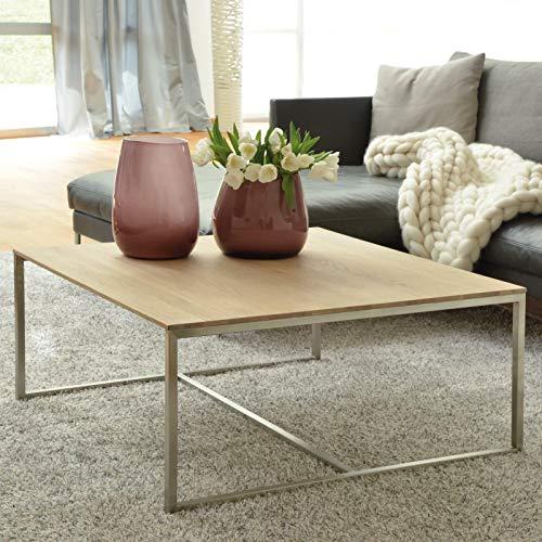 plaats te bestellen. Salontafel, bijzettafel, woonkamertafel, oplegtafel, sofatafel, hoektafel in massief eikenhout + verschillende houtuitvoeringen en formaten 90 x 90 x 40 cm Eiken Bianco frame roestvrij staal