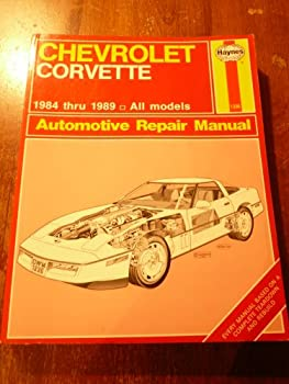 Paperback Haynes Chevrolet Corvette 1984-89 (Haynes Chevrolet Corvette Owners Workshop Manual) Book