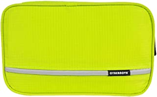CYBERNOVA Multi-functional Waterproof Compact hanging cosmetic Travel Bag toilet Bag toiletry Bag Washbag Organizer Kits/Cosmetic Pouch/Personal care Hygiene Purse (yellow-greeen)