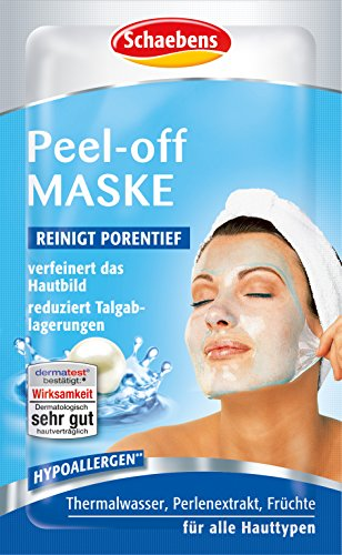 Schaebens Peel-Off Maske, 15er Pack (15 x 15 ml)