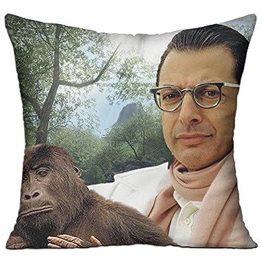 Goddess Aalto Jeff Goldblum Custom Pillow Covers Standard Size Throw Pillow Cases Decorative Cotton Linen Pillowcase Protecter With Zipper - 18x18 Inch