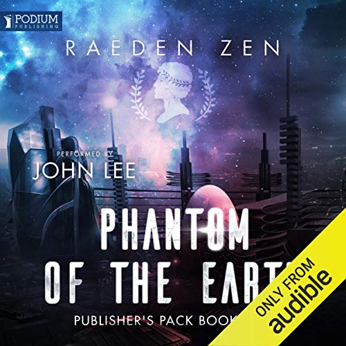 The Phantom of the Earth: Publisher's Pack audiobook cover art