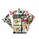 Gourmet Bar Steak Sopa Limonada Poker Jugar Magic Card Fun Juego de mesa