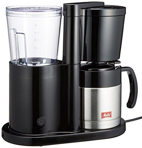 Melitta(メリタ) コーヒーメーカー【2-5杯 浄水フィルター付】Melitta NEUE(ノイエ) ジェットブラック MKM-535/B