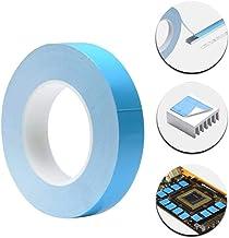Lkjh 25meter / Roll 8mm 10mm 12mm 20mm Breedte Transfer Tape Double Side Thermisch geleidende zelfklevende tape (Length : ...