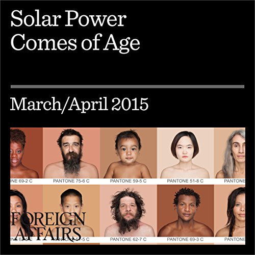 Solar Power Comes of Age audiobook cover art