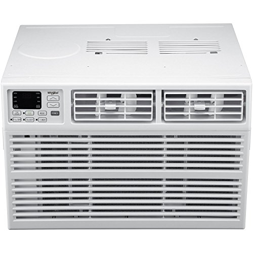 Whirlpool Energy Star 18,000 BTU 230V Window-Mounted Air Conditioner with Remote Control, White