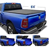 Tyger Auto T3 Soft Tri-Fold Truck Bed Tonneau Cover for 2019-2021 Ram 1500 New Body Style | 6'4' Bed | Not for Classic | Does Not Fit with Multi-Function (Split) Tailgate or RamBox | TG-BC3D1045