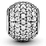 Pandora Jewelry Pave Lights Cubic Zirconia Charm in Sterling Silver
