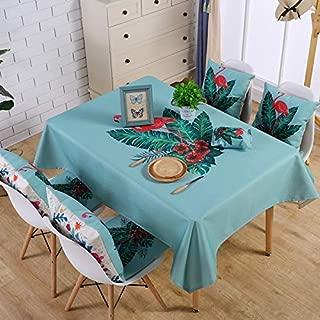 Funda De Tela Lino Cactus cheque tabla de conjuntos de decoración de Comedor Mantel Rectangular