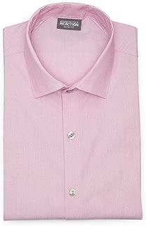 Kenneth Cole REACTION Men's Dress Shirt Technicole Slim Fit Stretch Solid